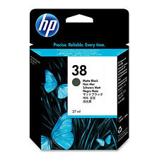 ORIGINALE HP Hewlett Packard PHOTOSMART opaco nero cartuccia di inchiostro 38 (