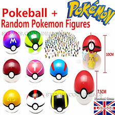Pokemon Go Pokeball Pop-up 7cm Plastic Ball Toy Action Figure Games & Stickers