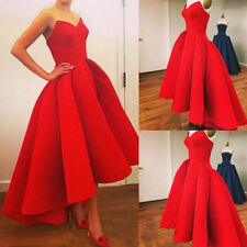 STOCK New Formal Wedding Ball Gowns Party Prom Bridesmaid Dresses Size 6-18 2017