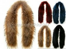 Womens REAL FOX FUR Scarf Collar Tippet Stole Luxury Soft Fluffy Natural Fur NEW
