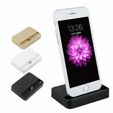 New Desktop Charging Dock Stand Station Charger For Apple iPhone 5 5s 5c Black