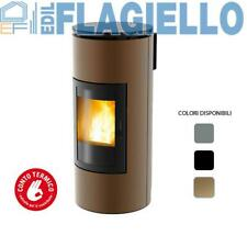 Stufa a Pellet ad Aria MCZ TUBE Comfort Air 8 kW Canalizzabile