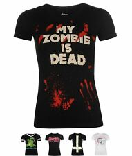 DI MODA Goodie Two Sleeves Goodie Printed T Shirt Ladies My Zombie Dead