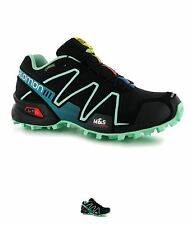 SALDI Salomon Speedcross3 GTX Donna Trail Scarpe running Black/Green