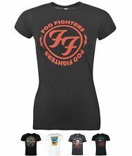 FASHION Official Foo Fighters T-shirt FF Bolts