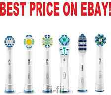 Braun ORAL B genuine electric toothbush replacement brush heads (CHOOSE AMOUNT)