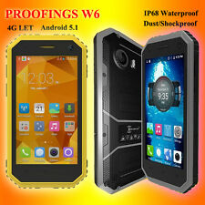 Kenxinda W6 4.5'' IP68 4G Smartphone Octa Core Android 5.1 Difficile Cellulare
