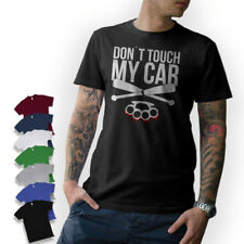 Camiseta T-Shirt DON´T TOUCH MY coche Tuning V8 Oldschool Camiseta divertida