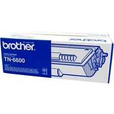 Autentico Brother TN-6600 Nero Stampante Laser Cartuccia Del Toner - ad Alta