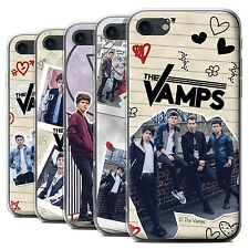Official The Vamps Gel/TPU Case/Cover for Apple iPhone 7 /The Vamps Doodle Book