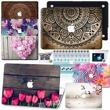 """Pretty Rubberized Floral Hard Case For Macbook Pro 13""""15"""" Touch Bar Air 11"""" 13"""""""