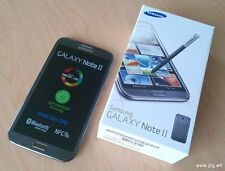 BOXED SAMSUNG GALAXY NOTE 2 UNLOCKED SMARTPHONE WHITE, BLACK & GREY COLOURS
