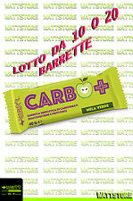 + WATT CARBO+ barrette energetiche - 10 pz o box da 20