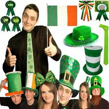 New Fancy Dress Party ST PATRICK'S Day IRISH Themed Novelty Shamrock Accessories