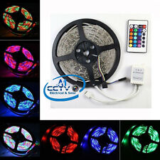 5M 10M Non-Waterproof 5050 3528 RGB Single Color LED Light R. Control Accessory