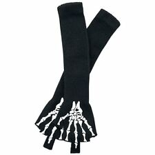 Full Volume by EMP  Guanti senza dita - Skeleton Gloves