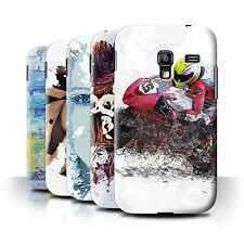 STUFF4 Phone Case/Back Cover for Samsung Galaxy Ace Plus/S7500 /Fragments