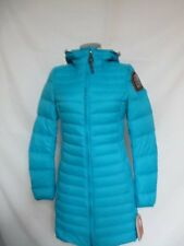 Parajumpers Irene Super Lightweight Masterpiece Down Coat XS Turquoise NWT