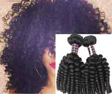 300g Afro Kinky Curly FUNMI Human Hair Extension 100% Virgin Peruvian Hair Weave