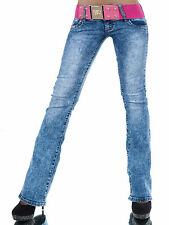 REDSEVENTY JEANS BOOTCUT + CEINTURE TAILLE gr.34-40