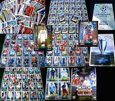 Topps Match Attax CHAMPIONS LEAGUE 15/16 2015/2016 Trading Cards Sets Karten
