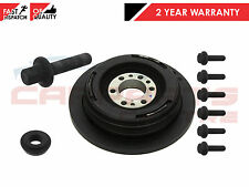 FOR LAND ROVER RANGE ROVER 2.5 P38 CRANK SHAFT DAMPER PULLEY WITH FITTING BOLTS