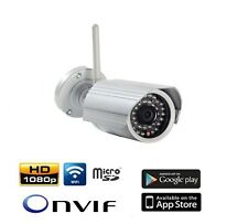 CAMARA SEGURIDAD VIDEO VIGILANCIA IP  1080P WI-FI GRABACION VIDEO  TARJETA M.SD