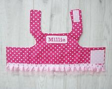 Handmade Dog Harness with personalised name - puppy chihuahua small breed