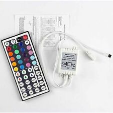 24 44 Key telecomando IR Controller DC 12V for RGB LED 3528 5050 SMD