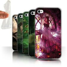 Official Elena Dudina Gel/TPU Case for Apple iPhone 4/4S /One with Nature