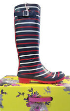 Joules Wellies Navy London Stripe – W_Wellyprint