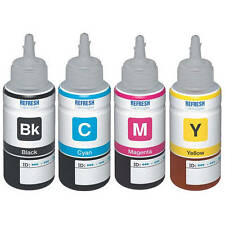 COMPATIBLE NON-GENUINE 4 INK BOTTLES FOR EPSON ECO TANK T6641/T6642/T6643/T6644