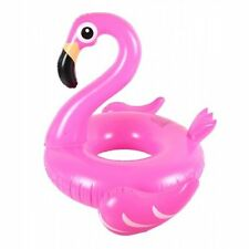 Inflatable Flamingo, Swan, Donut Rubber Ring Swimming Pool Floats. Lilo pool Toy