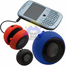 CASSA Altoparlante MINI Hamburger SPEAKER per CELLULARE Jack USB Audio HI-FI Tv