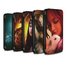 Elena Dudina PU Leather Case/Wallet for Samsung Galaxy S7/G930 /The Animals