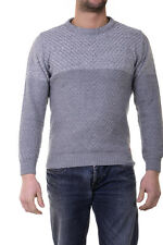 I'M C Couture Sweater Pullover -50% Herren MADE IN ITALY Grau 4344301-