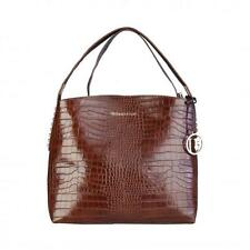 Trussardi Borsa Donna Borse a spalla shopping bag shopper Marrone 76708 BDX