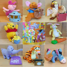 McDonalds Happy Meal Toy 2005 WINNIE The POOH Plush Character - VARIOUS