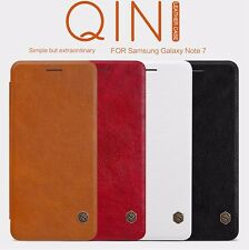"FOR ""SAMSUNG GALAXY S6 Edge Plus+"" NILLKIN QIN SERIES LEATHER FLIP COVER CASE"