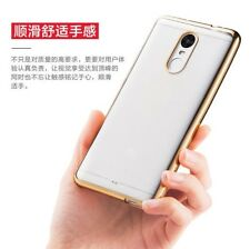 For Xiaomi Redmi Mi Note 4 New Luxury Ultra Thin TPU Gold Plated Back Case Cover