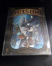 Greg Craola Simpkins The Outside Hardcover Book