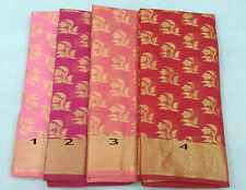 Women's Ethnic Wear Kota Doria Cotton Sarees With Running Blouse