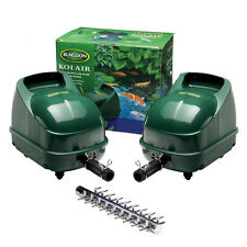 Blagdon pond koi air pump goldfish fish aerator garden for Pool pump for koi pond