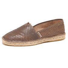 3493P mocassino ESPADRILLES marrone scarpa uomo shoe men