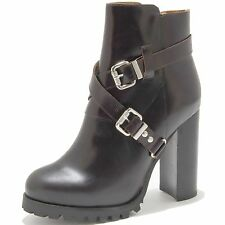 76220 tronchetto brown  JEFFREY CAMPBELL MERCER scarpa stivale donna boots shoe