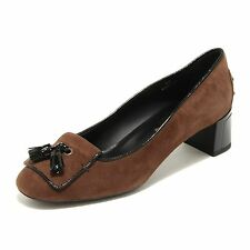 30709 marrone decollete TODS ballerina gommini  scarpa donna shoes women