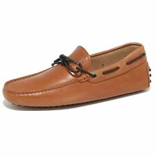 7106N mocassino TOD'S scarpe uomo loafer shoes men cuoio