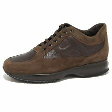 8589N sneaker HOGAN INTERACTIVE marrone scarpe uomo shoes men