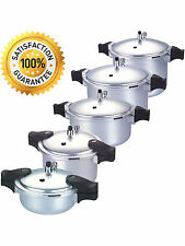 KITCHEN KING ANODIZED PRESSURE COOKER BLAZE PROFESSIONAL HEAVY DUTY 3L-To-25Ltr