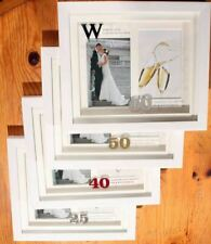 Wedding Anniversary Photo Then & Now Frame 25th 40th 50th 60th